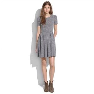 Madewell Gray sweatshirt dress with pockets large